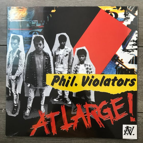 Image of Philippine Violators - At Large Vinyl LP