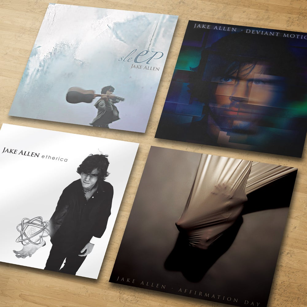 Image of Jake Allen CDs:  4-Album Collection  (plus bonus EP)