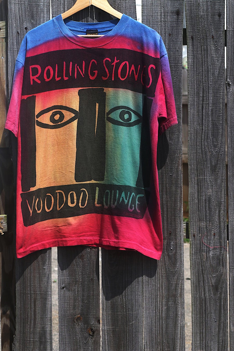 "Image of Rare 1994 Brockum ""ROLLING STONES - VOODOO LOUNGE"" Single-Stitched Concert Tee"