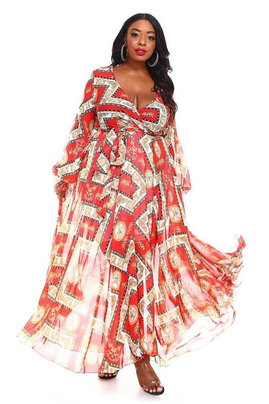 Image of Red Rider Maxi Dress (Available 6/16/20)