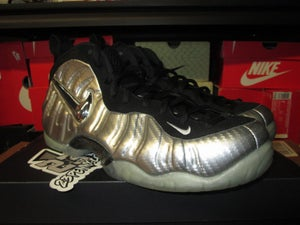 "Image of  Air Foamposite Pro ""Metallic Silver/Blk"" *USED*"