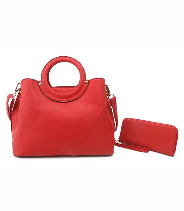 Image of Ready -N- Red 2pc Handbag Set (Available 6/20/20)