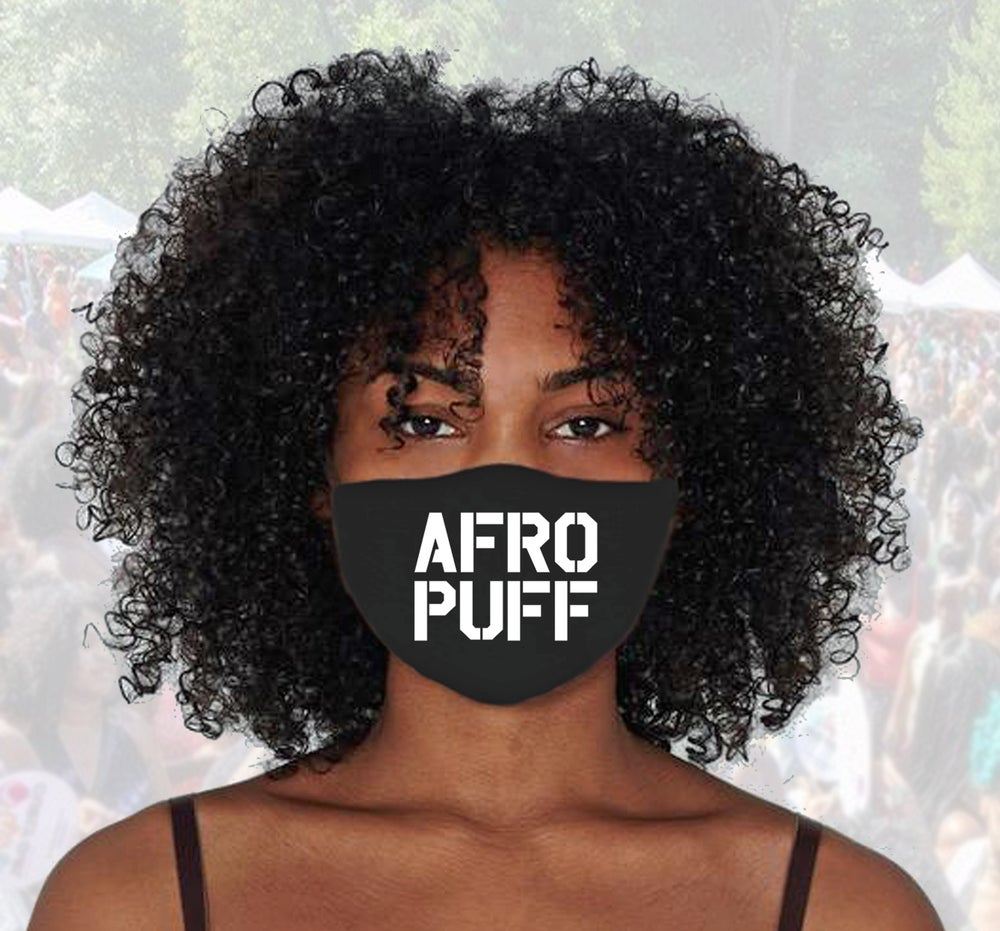 Image of AFRO PUFF face Mask / Cover
