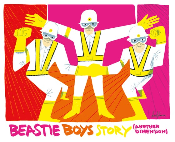 Image of Lucio Schiavon - BEASTIE BOYS STORY (ANOTHER DIMENSION)