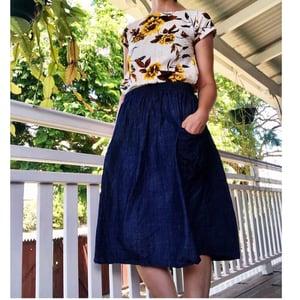 Preorder Denim Rachael Skirt with Free Postage