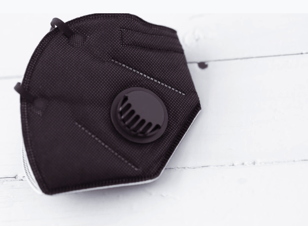 Image of Mascarilla FFP2 negra con válvula. Recogida en tienda gratuita, selecciona en envio SPAIN.