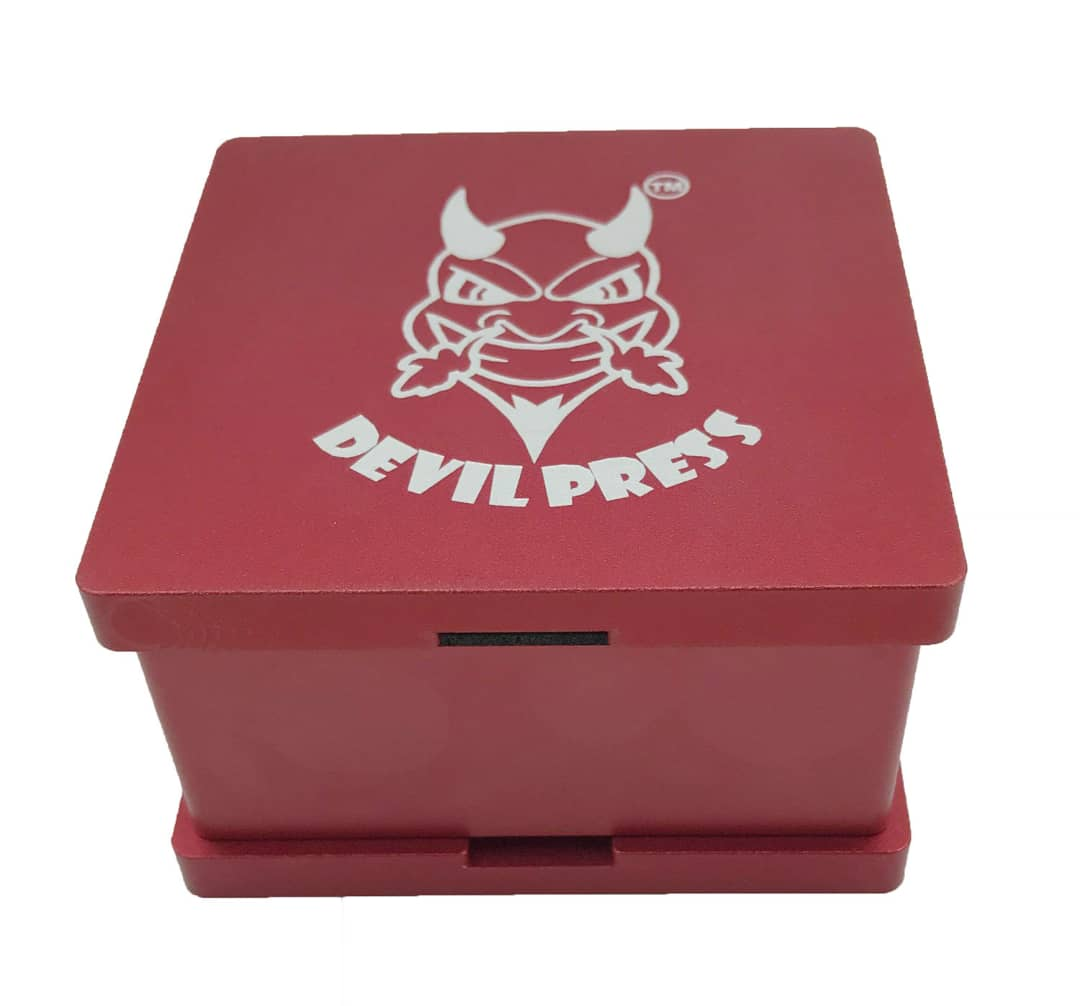 "Image of DEVILPRESS™ 2.5""X 2.5"" ROSIN PRE PRESS MOLD"