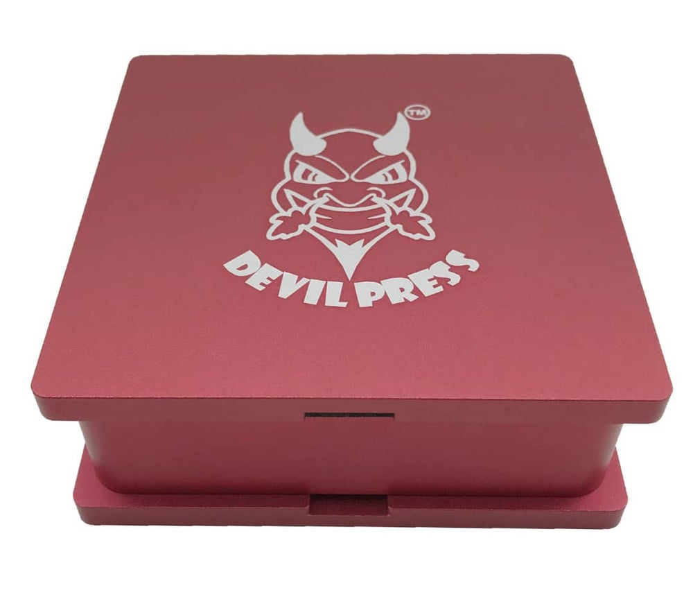 "Image of DEVILPRESS™ 4""x 4"" ROSIN PRE PRESS MOLD ALUMINIUM"