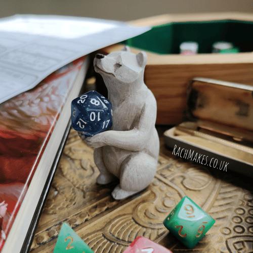 Image of Polar Bear Dice Guardian