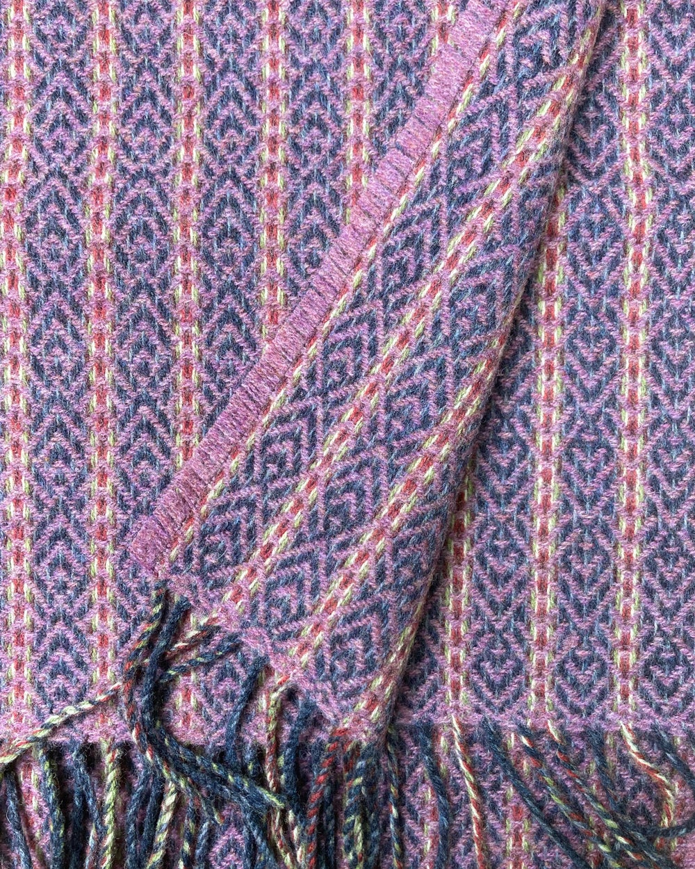Image of Indigo & Rose 'Deco Fan' scarf