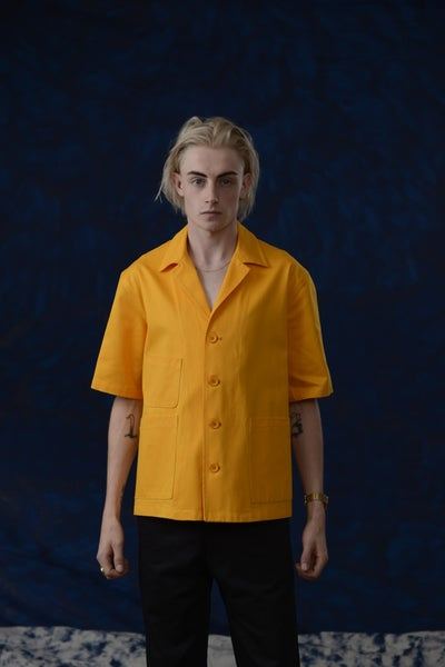 Image of THEO SHIRT SUNFLOWER £195.00
