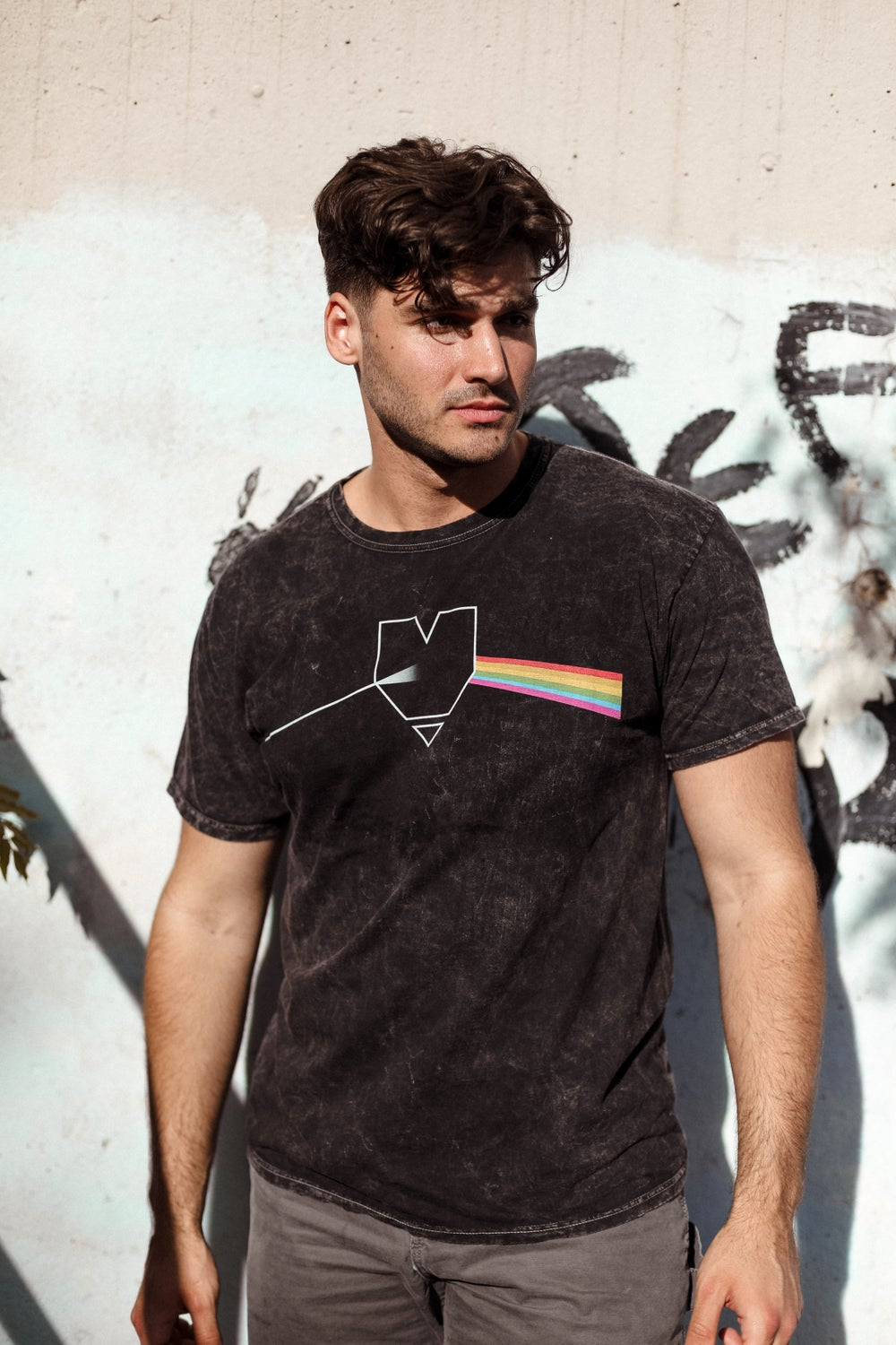 Image of Dark Side mineral wash tee