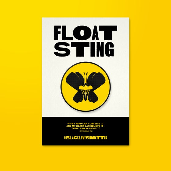 Image of Float x Sting Black Lives Matter Charity Pin (PRE-ORDER)