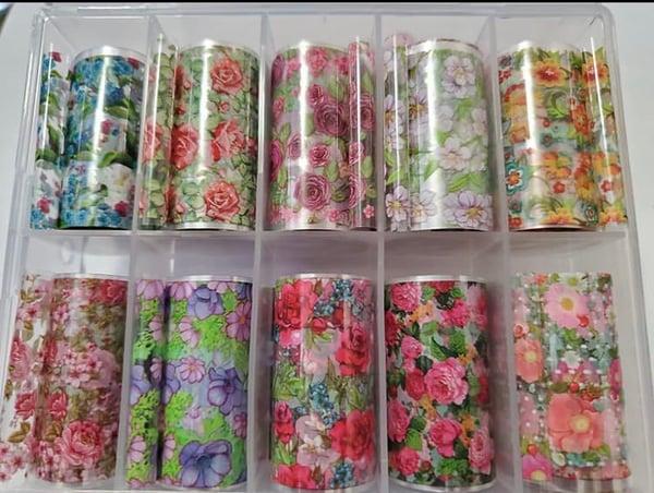 Image of Flower foils