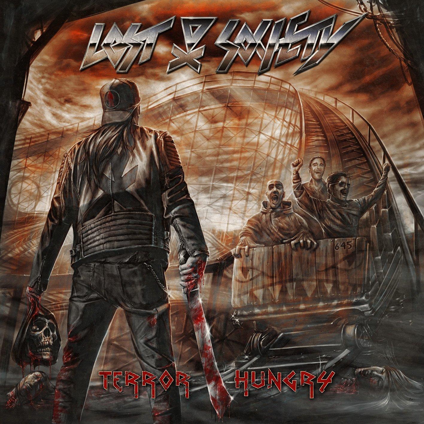 "Image of LOST SOCIETY ""TERROR HUNGRY"" Digipak CD"