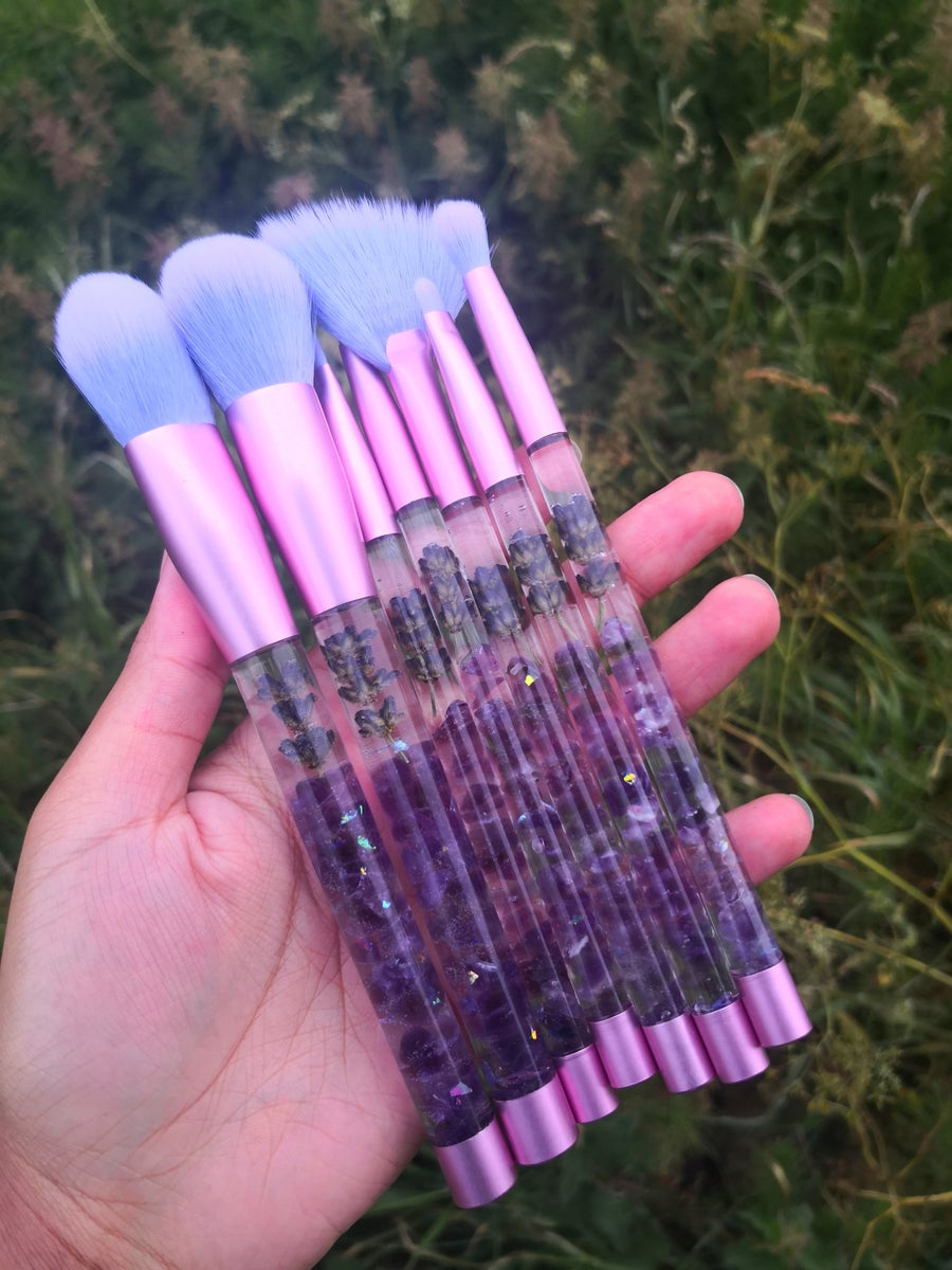 Image of Amethyst x Lavender Wand Collection / CyanicVanity