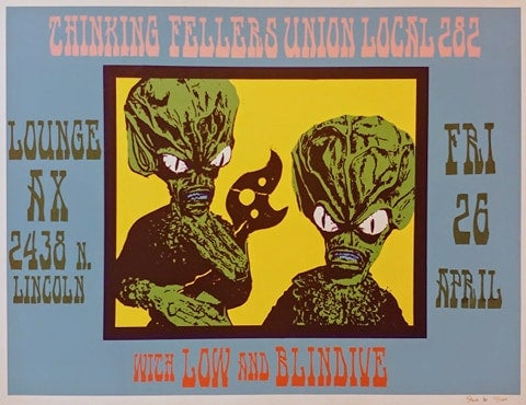 Image of Thinking Fellers Union Local 282 poster