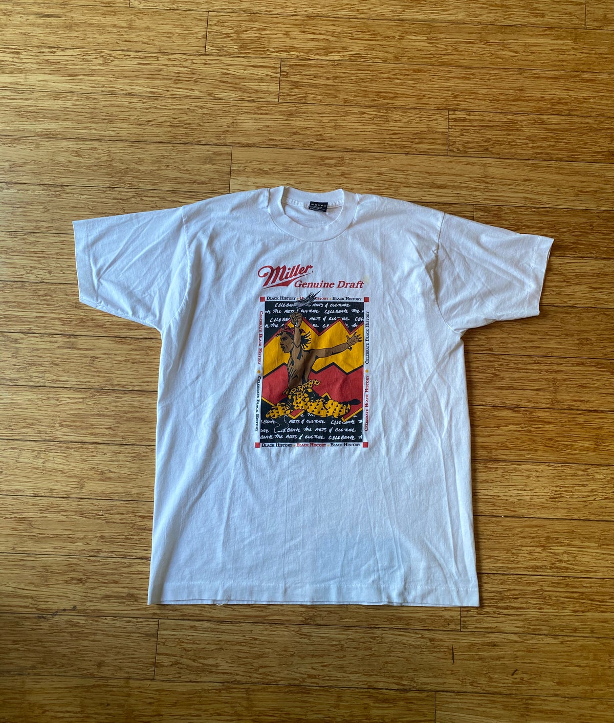 Image of 90s Miller Draft for Black History Month Promo Tee