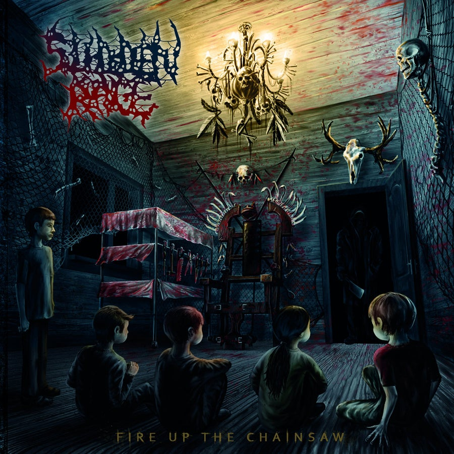 Image of Sudden Rage - Fire Up The Chainsaw CD