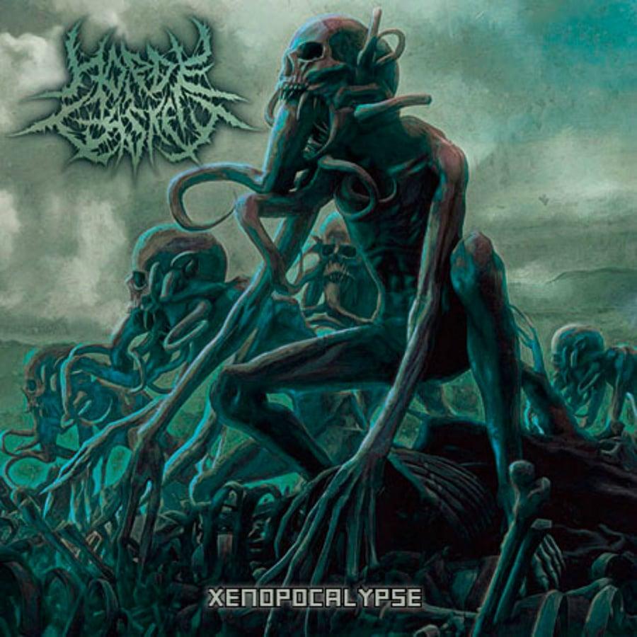 Image of Horde Casket - Xenopocalypse CD