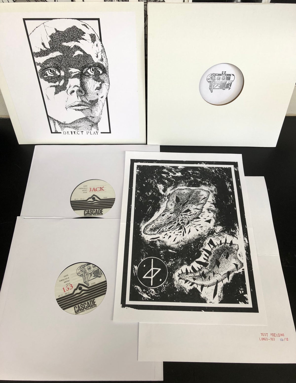 Image of DEFECT PLAY - s/t MLP