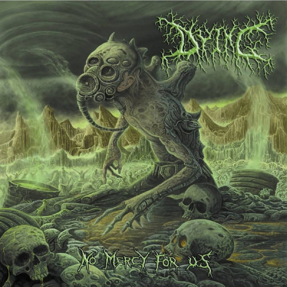 Image of Dying - No Mercy For Us CD