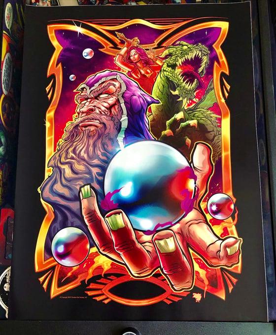 "Image of 18"" x 24"" SPC Pinball Art Print"