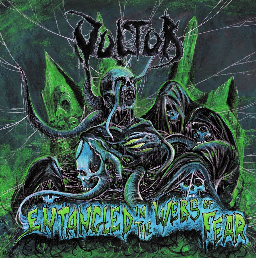 Image of Vultur - Entangled In The Webs Of Fear CD
