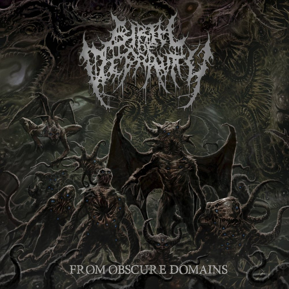 Image of Birth Of Depravity - From Obscure Domains CD