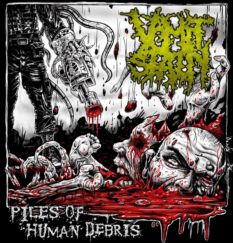 Image of Vomit Stain - Piles Of Human Debris CD