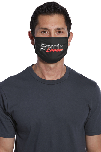 Image of Sword and Laser Face Mask