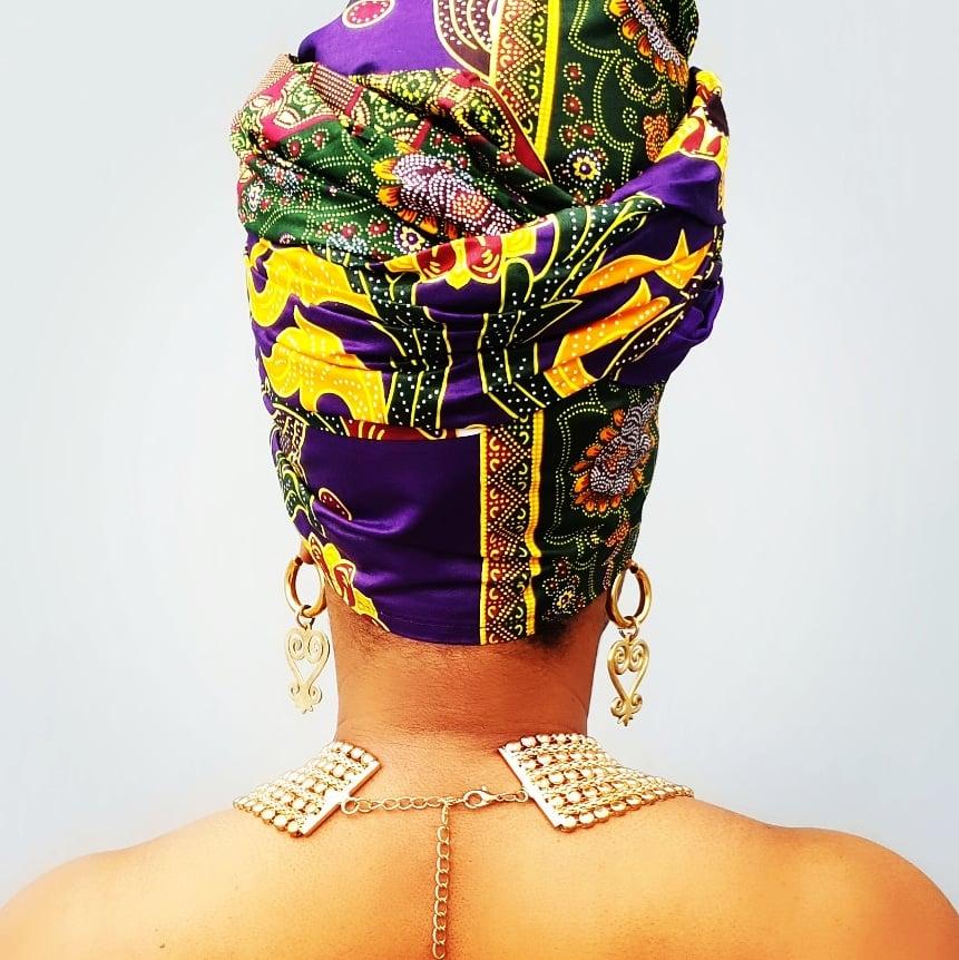 Image of YAA-ASANTEWAA Headwrap