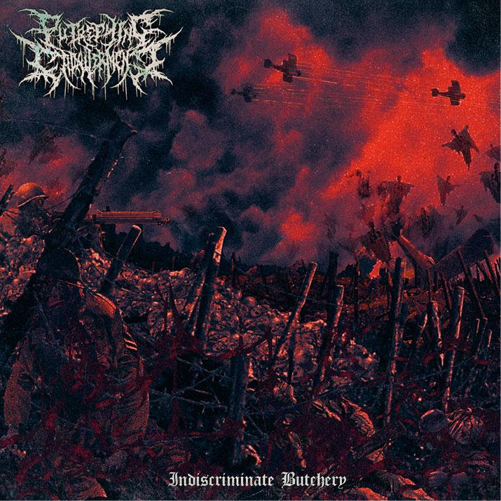 Image of Putrefying Cadaverment - Indiscriminate Butchery CD