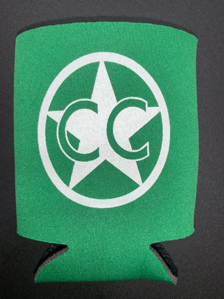 Image of CC Kelly Green Koozie