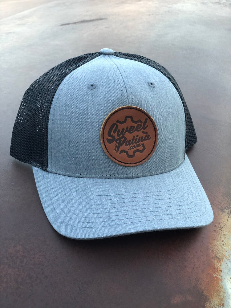 Image of Leather Patch Hat