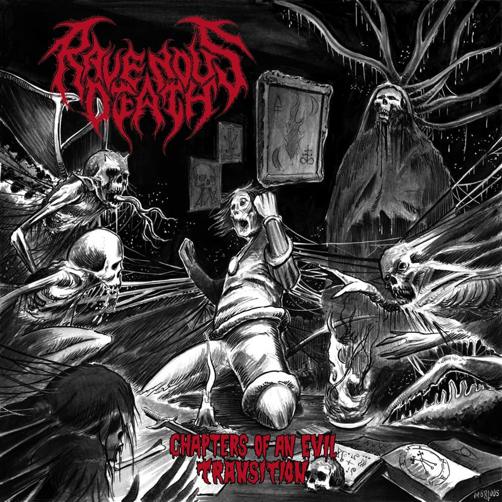 Image of Ravenous Death - Chapters Of An Evil Transition CD