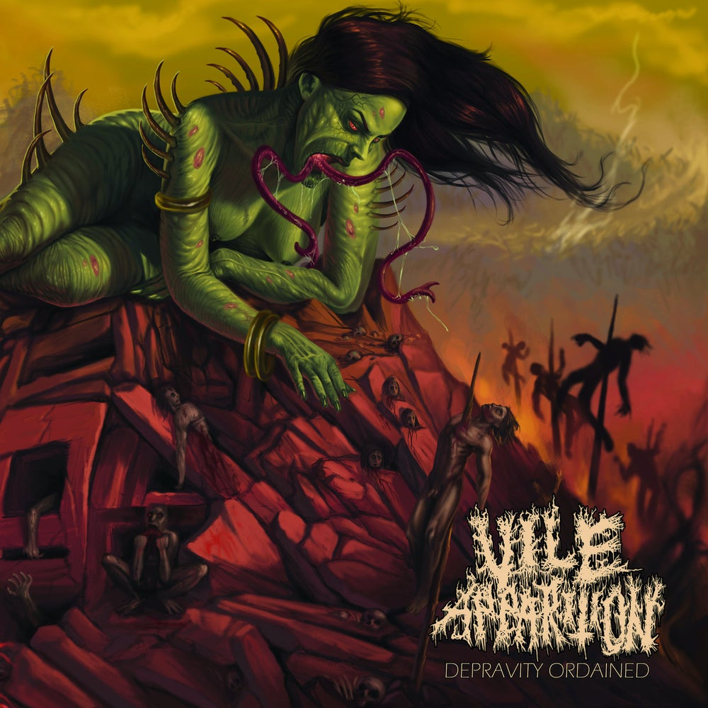 Image of Vile Apparition - Depravity Ordained CD