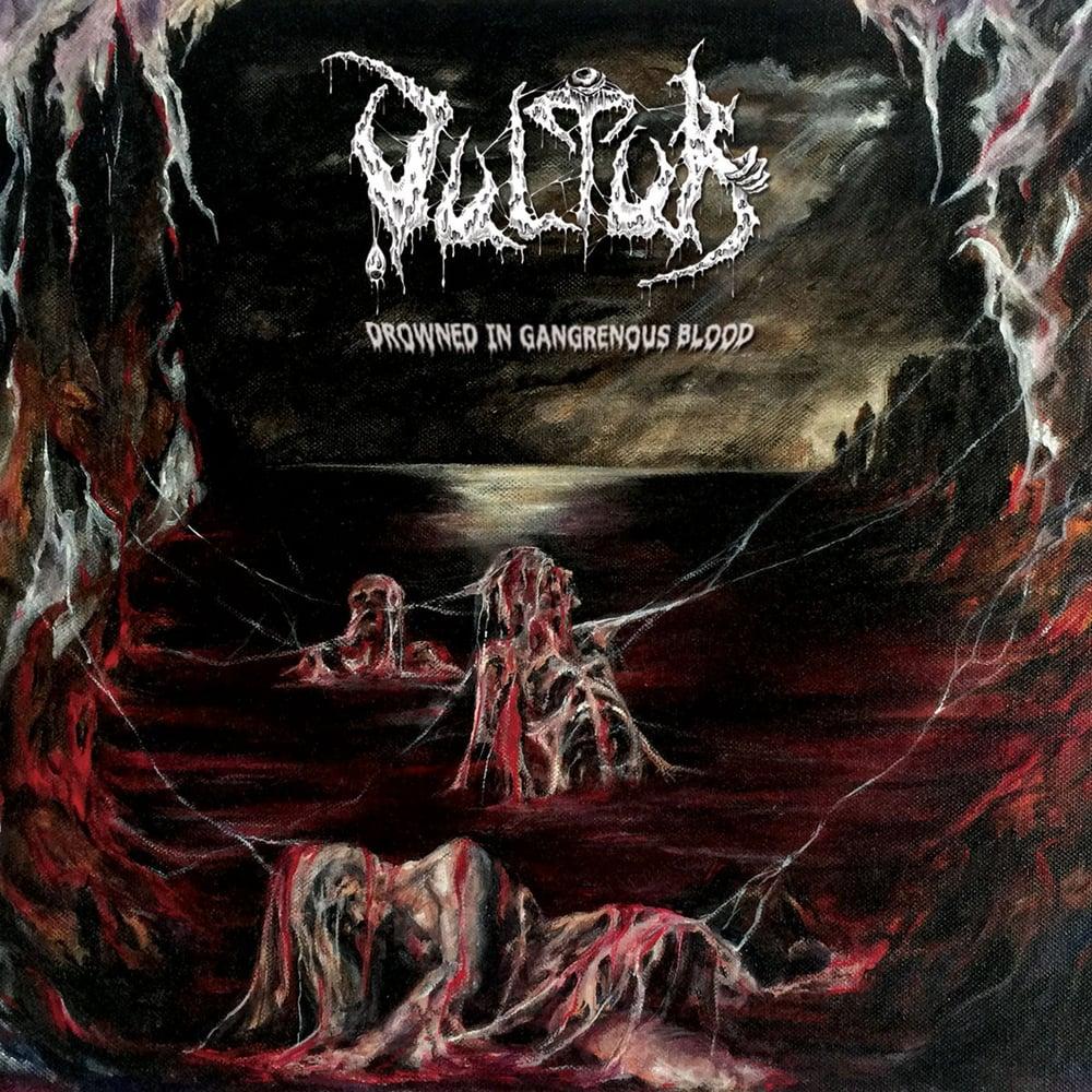 Image of Vultur - Drowned In Gangrenous Blood CD