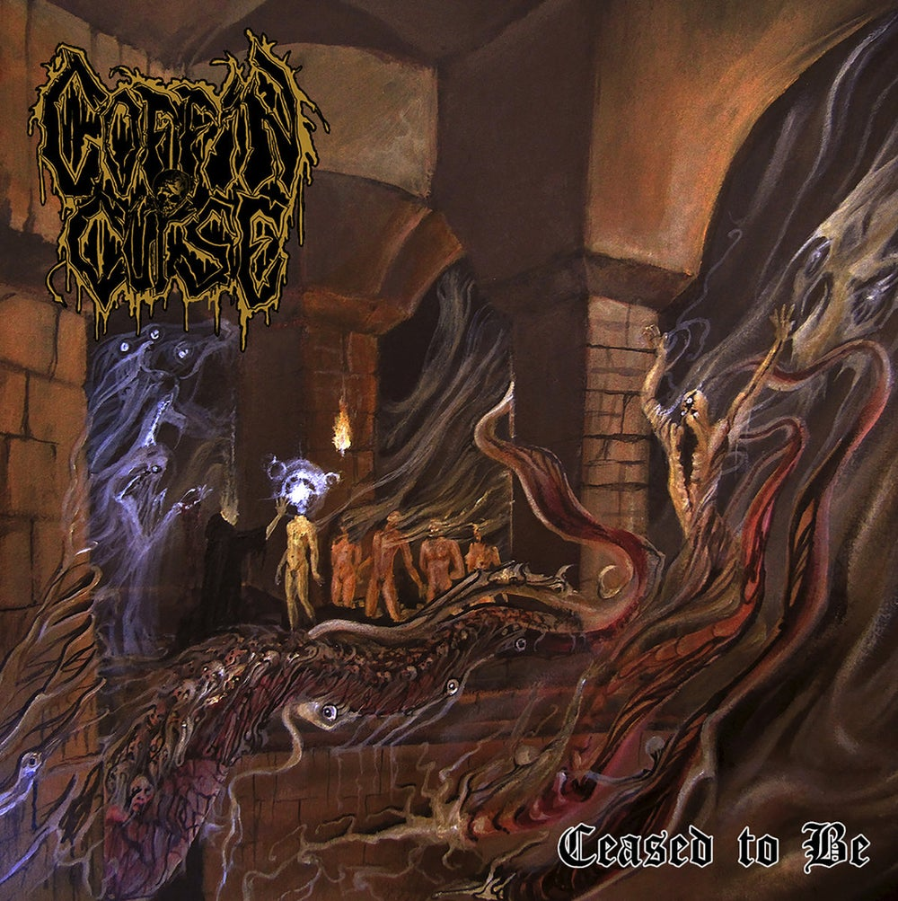 Image of Coffin Curse - Ceased To Be CD