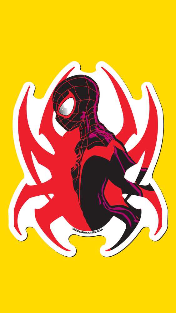 Image of ALL NEW SPIDER-MAN STICKERS