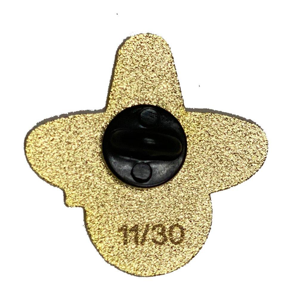 Sombrero 2020 Pin - Royal Blue