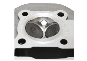 Image of Scooterworks USA Big Valve Head (2 valve, 61mm)  GY6