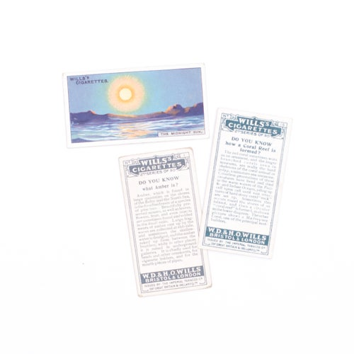 Image of Do You Know Cigarette Cards - Set of 8