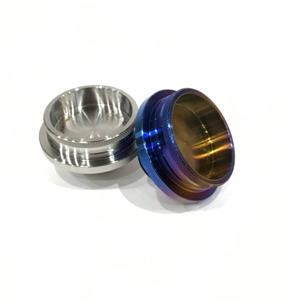 Image of Subaru Titanium Oil cap (WRX/FRS/BRZ/Forester/Legacy/Outback)
