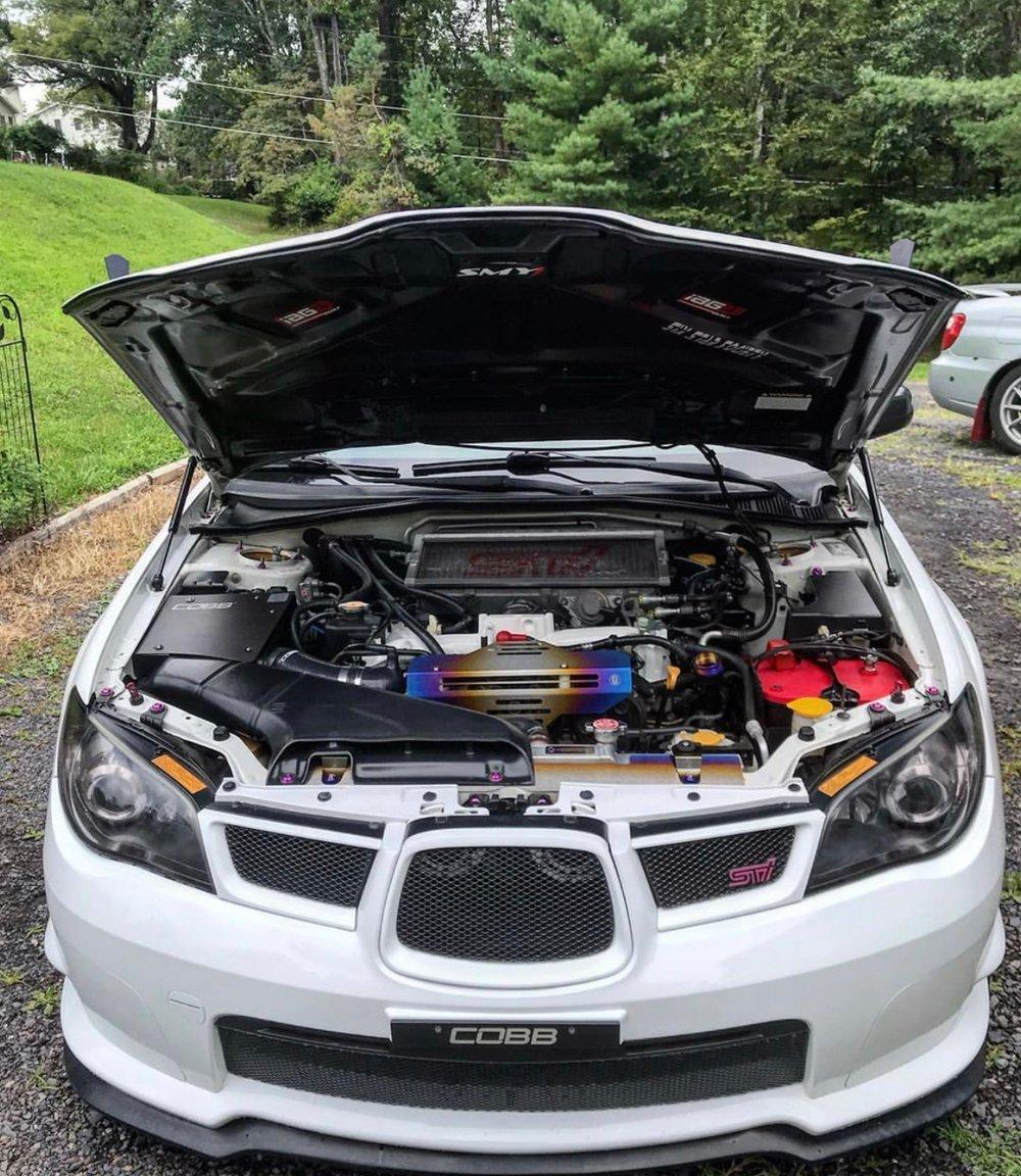 Subaru Titanium Oil cap (WRX/FRS/BRZ/Forester/Legacy/Outback)