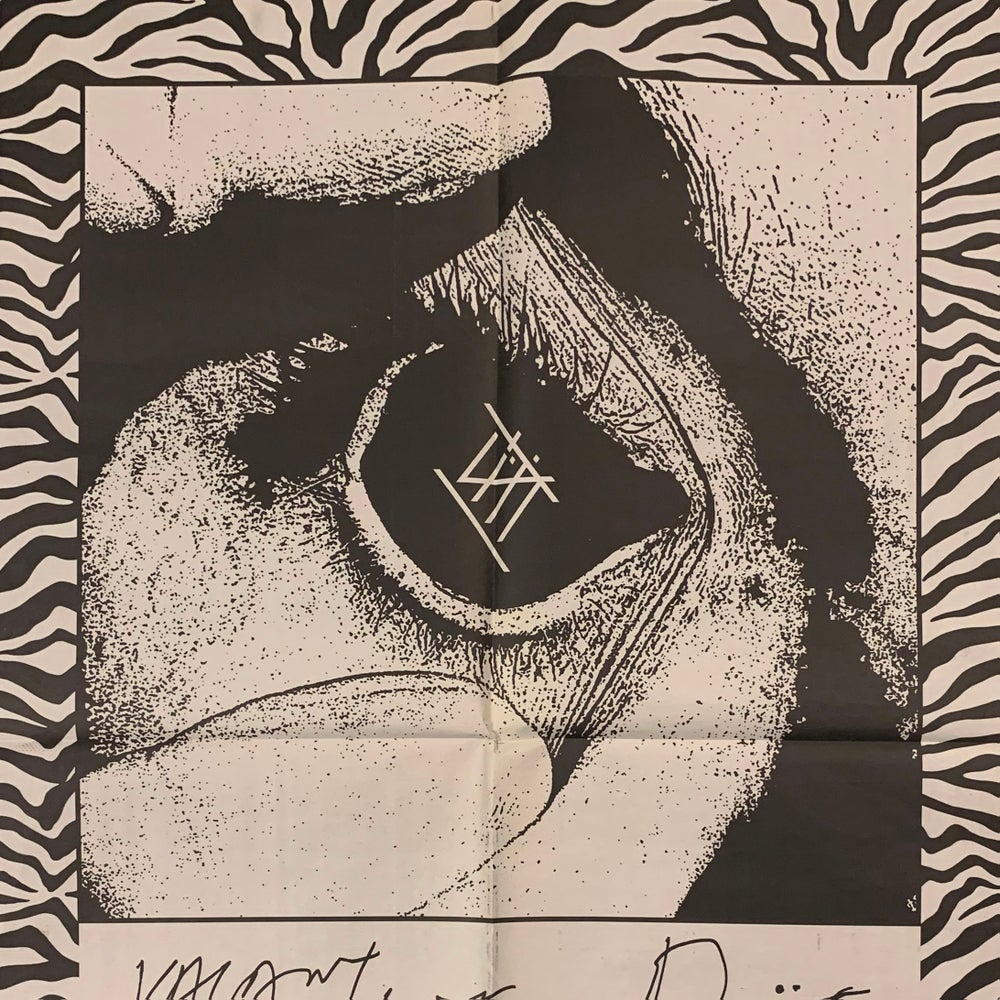Image of The Vacant Life / Diät Summer Tour Newsprint Poster