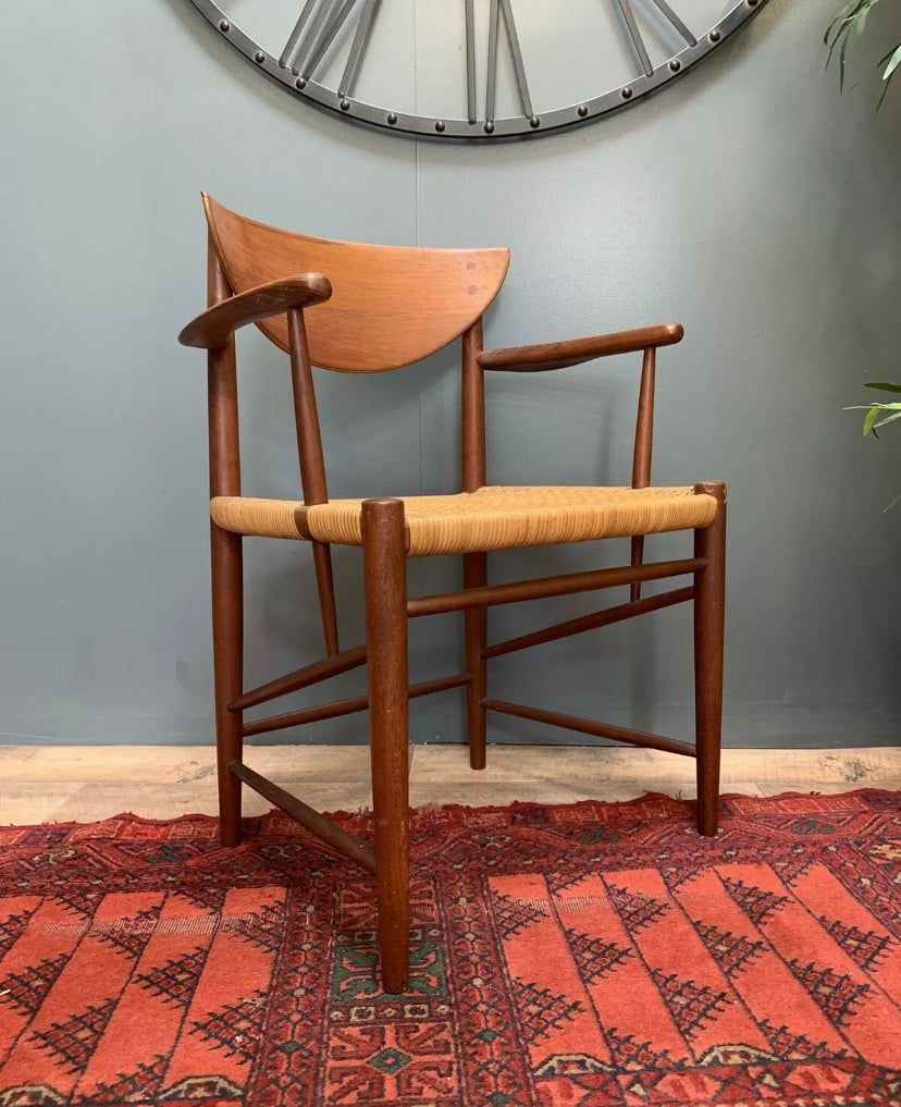 Image of Mid century dining chair model 317 Peter Hvidt & Orla Mølgaard Nielsen for Møbelfabrik