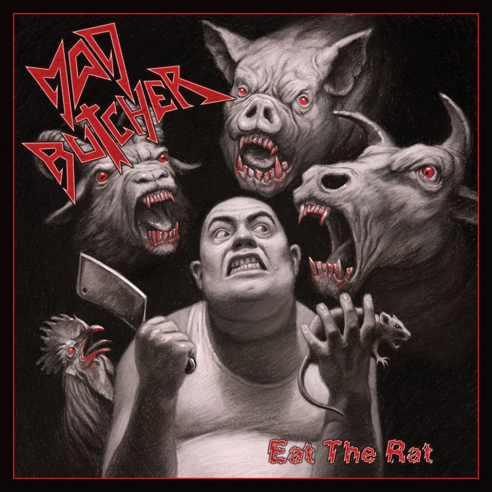 MAD BUTCHER - Eat the Rat CD