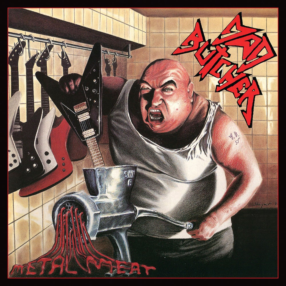 MAD BUTCHER - Metal Meat +5 CD