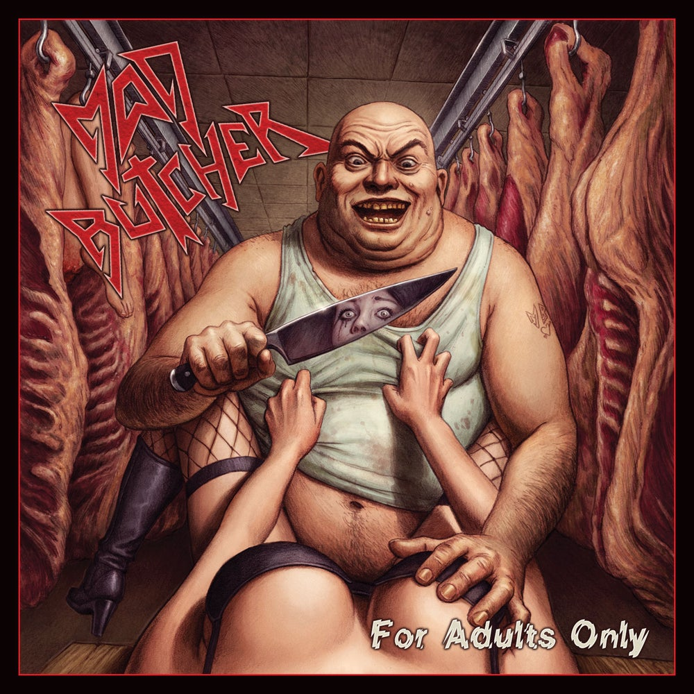 MAD BUTCHER - For Adults Only + Demo '87 CD